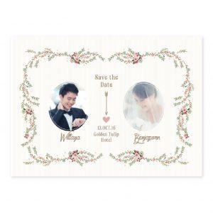 การ์ดแต่งงาน PP008