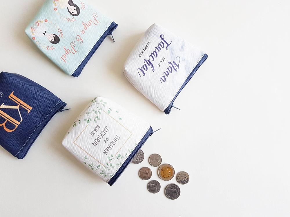 Coin Bag | ของชำร่วย กระเป๋าหนังใส่เหรียญ